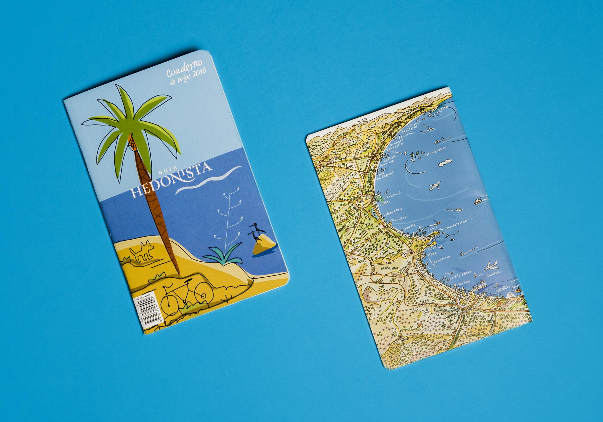 Cuaderno de rutas Guía Hedonista