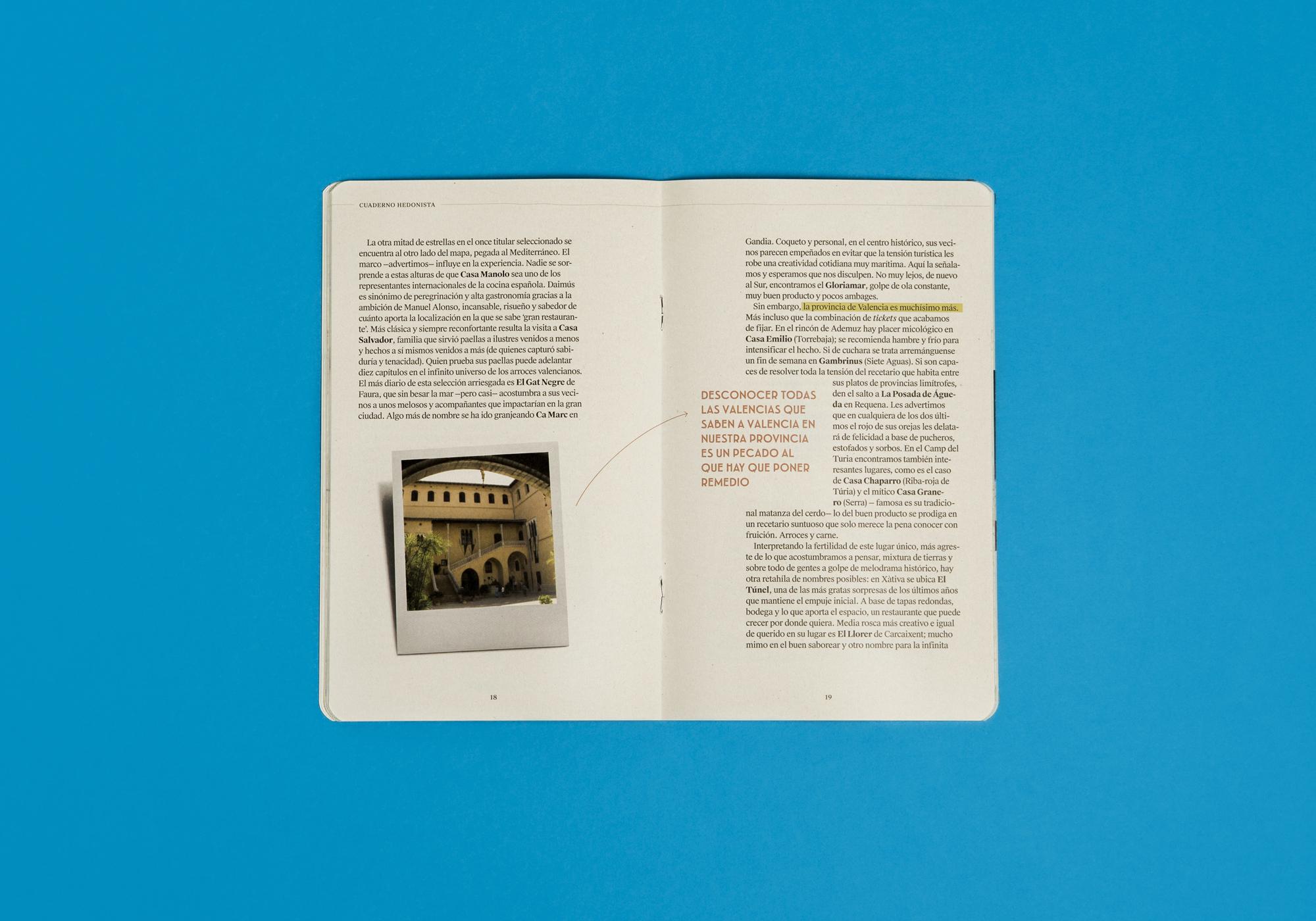 Cuaderno Guía Hedonista