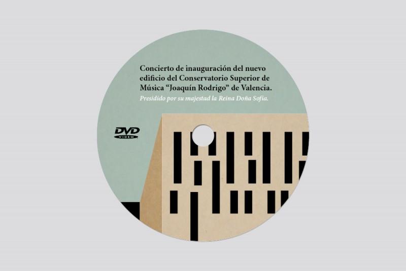 DVD Inauguración Conservatorio